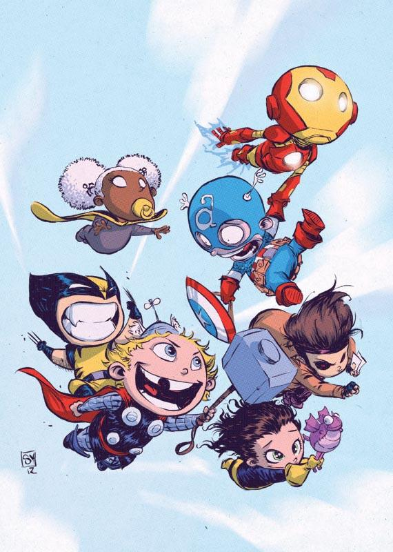 Adorable superhero babies 1