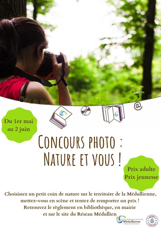 Affiche presse concours photo