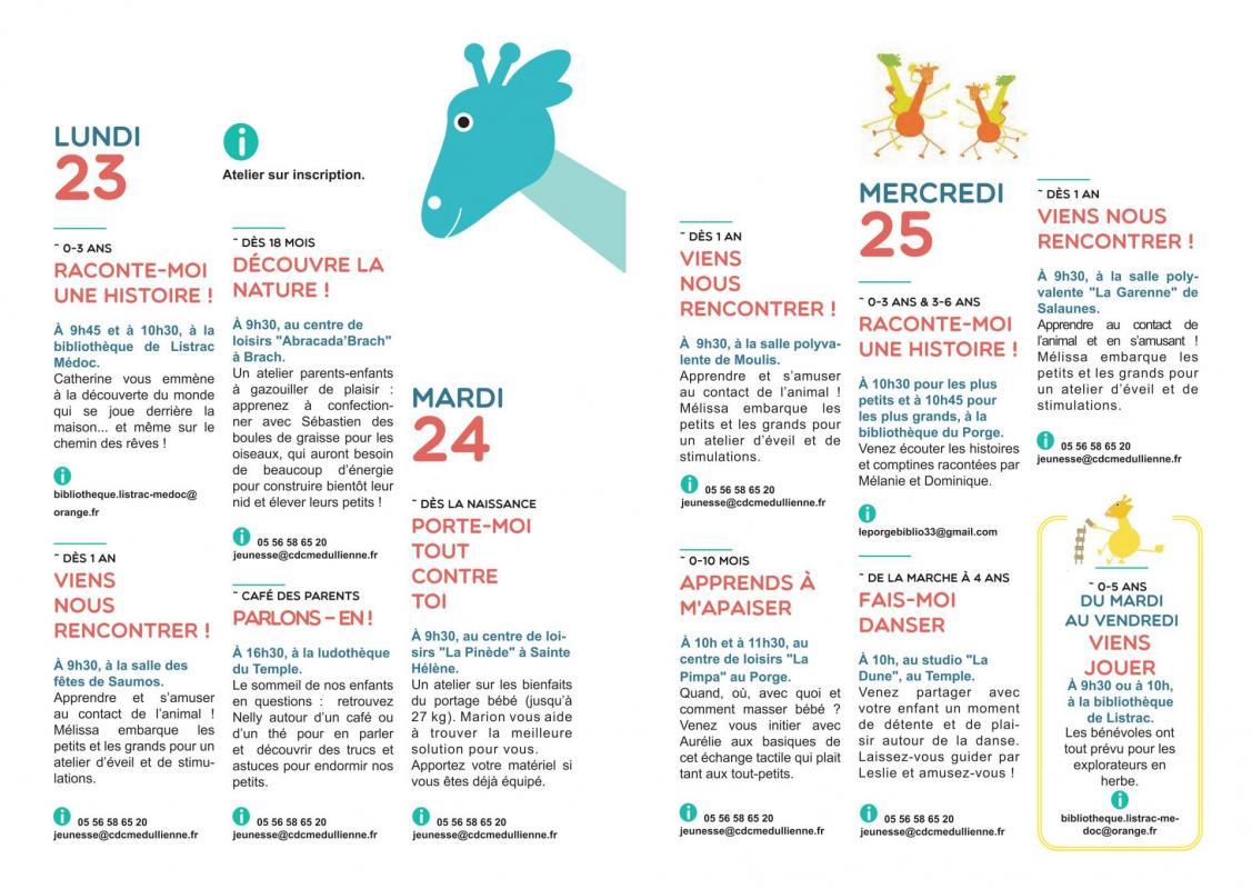 Page 2 et 3 programme SNPE