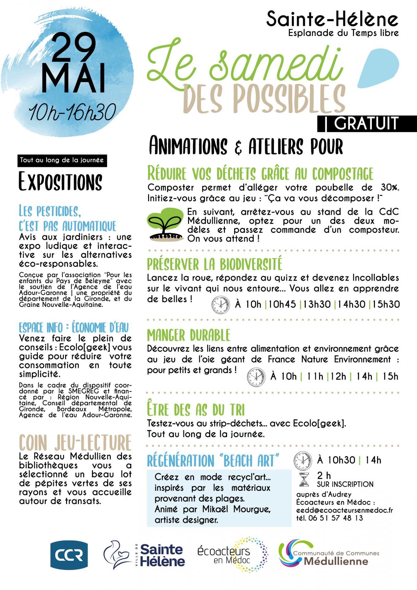 Affiche programme 29 mai 21
