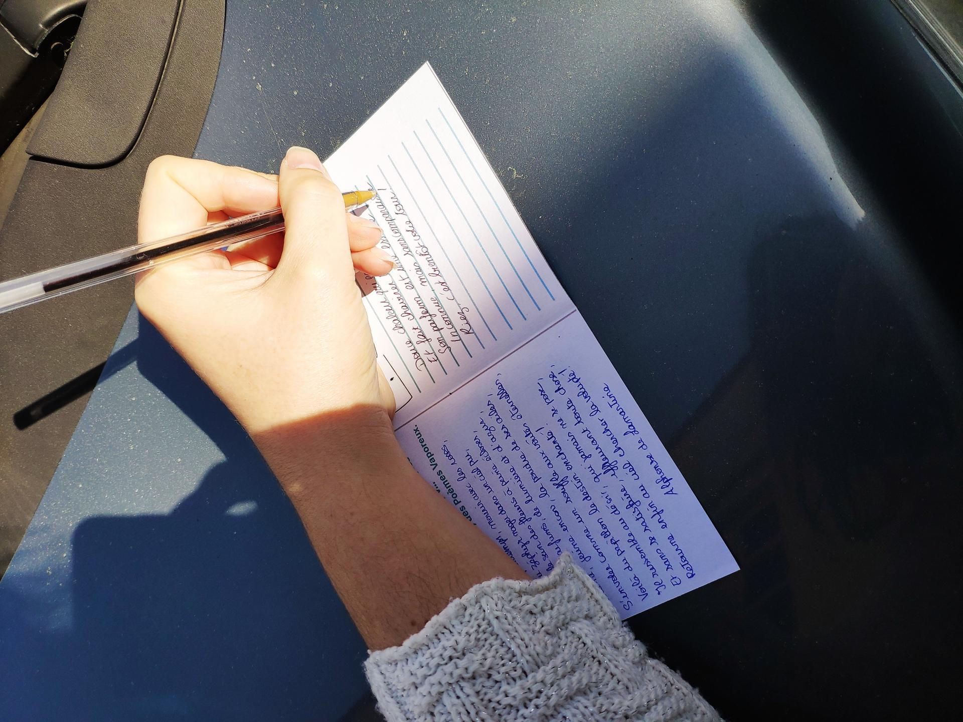 Et une invitation à écrire quelques mots... sur le Désir