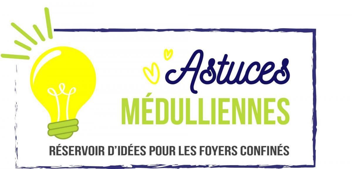 Logo astuces meduliennes idee verte 10